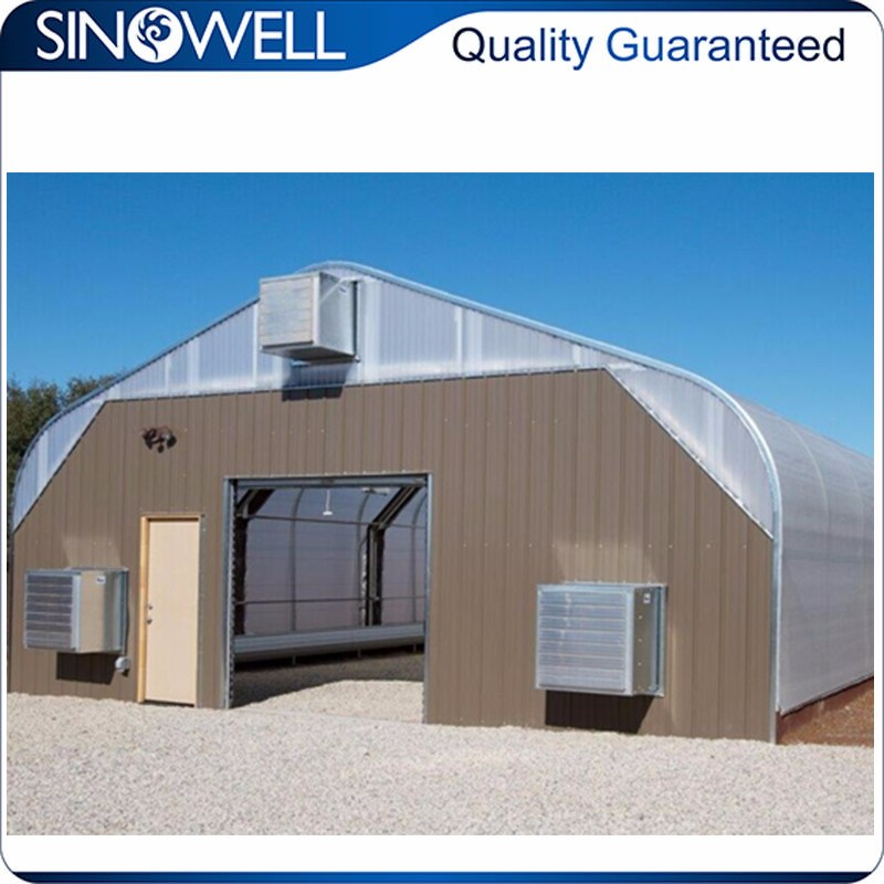 Industry Top 3 Manufacturer SINOWELL invernadero agriculture greenhouse