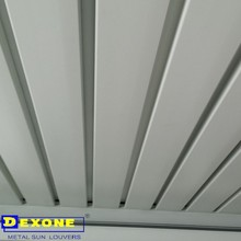 1.8mm thickness motorized louver for curtain wall