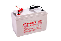 High repeat Rechargeable 12V 100Ah solar energy storage battery