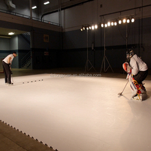 Super glide uhmwpe material artificial ice skating rinks