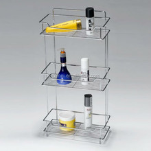 Table-top 3 Tiers Bathroom Corner Shampoo Shelf