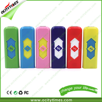 Personalized usb lighter smoking accessories no flame rechargeable lighters in promotion