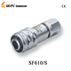 Industrial Push-pull Metal connector Female SF610 Weipu connector electrical connector metal plugs