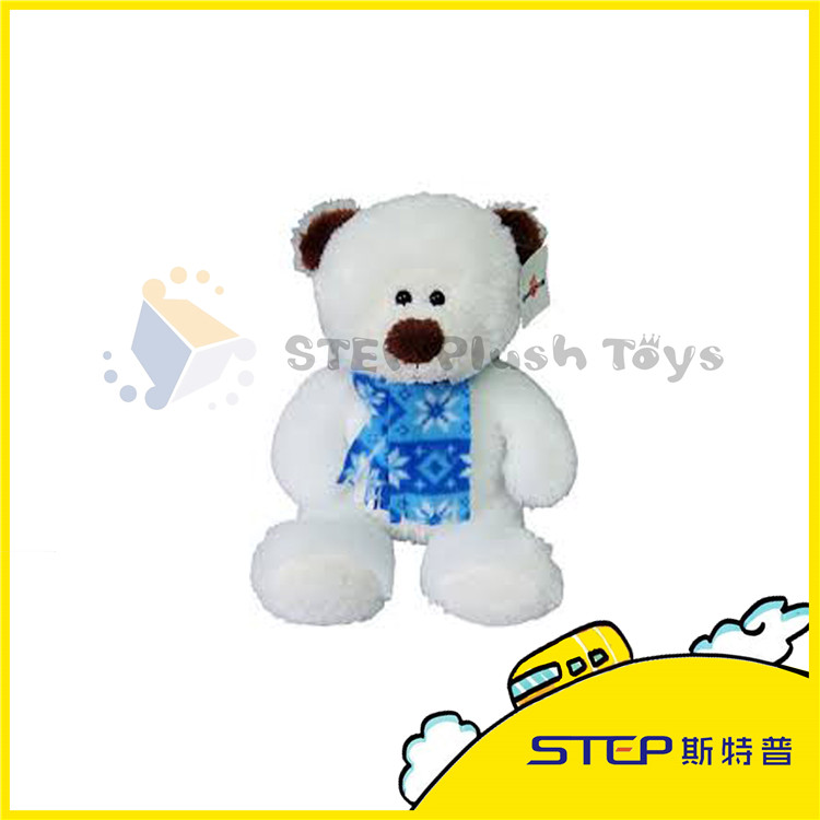 Good Quality Customized Christmas Bear Plush Toy For Kids