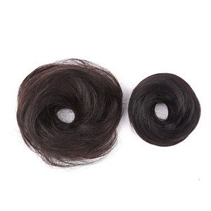 Factory Supply Human Hair Chignon Donut Buns Up Do Brazilian Hair Extensions