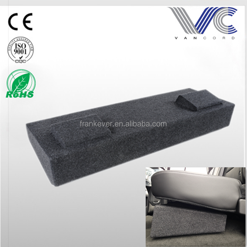 "Dual 10"" Carpeted Finish Vehicle Specific Enclosure car small speaker box for 2014 - 2016 GM Crew Cabs made in China"