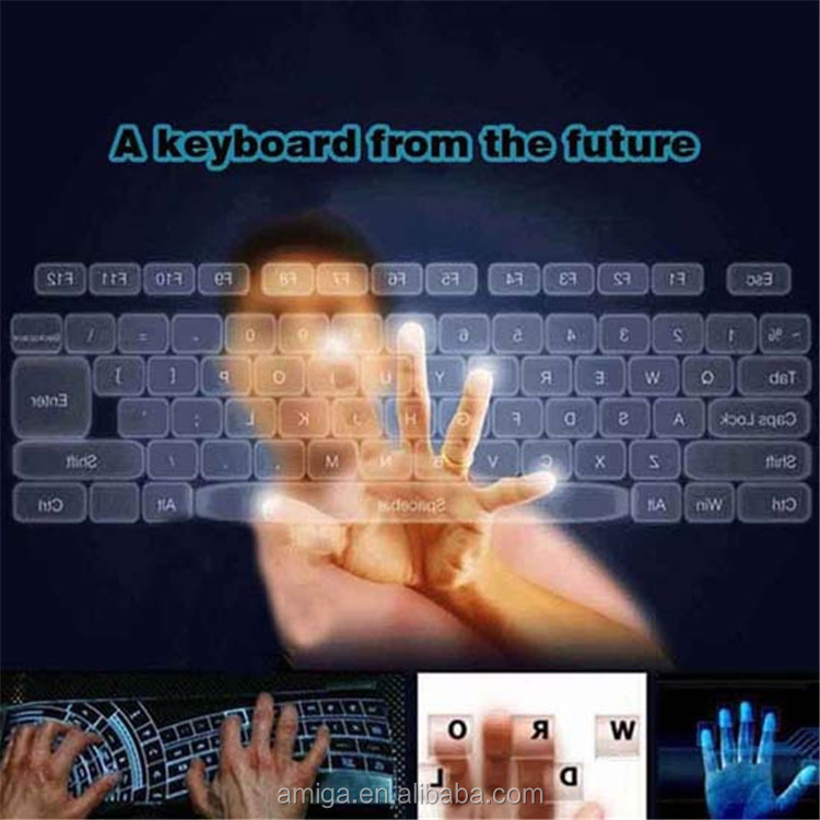 Wireless Bluetooth Projection Virtual Laser Keyboard With Mouse Speaker Function mini wireless keyboard computer software
