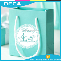 Promotion Custom Color Printing Gift Paper Bag With Best Price