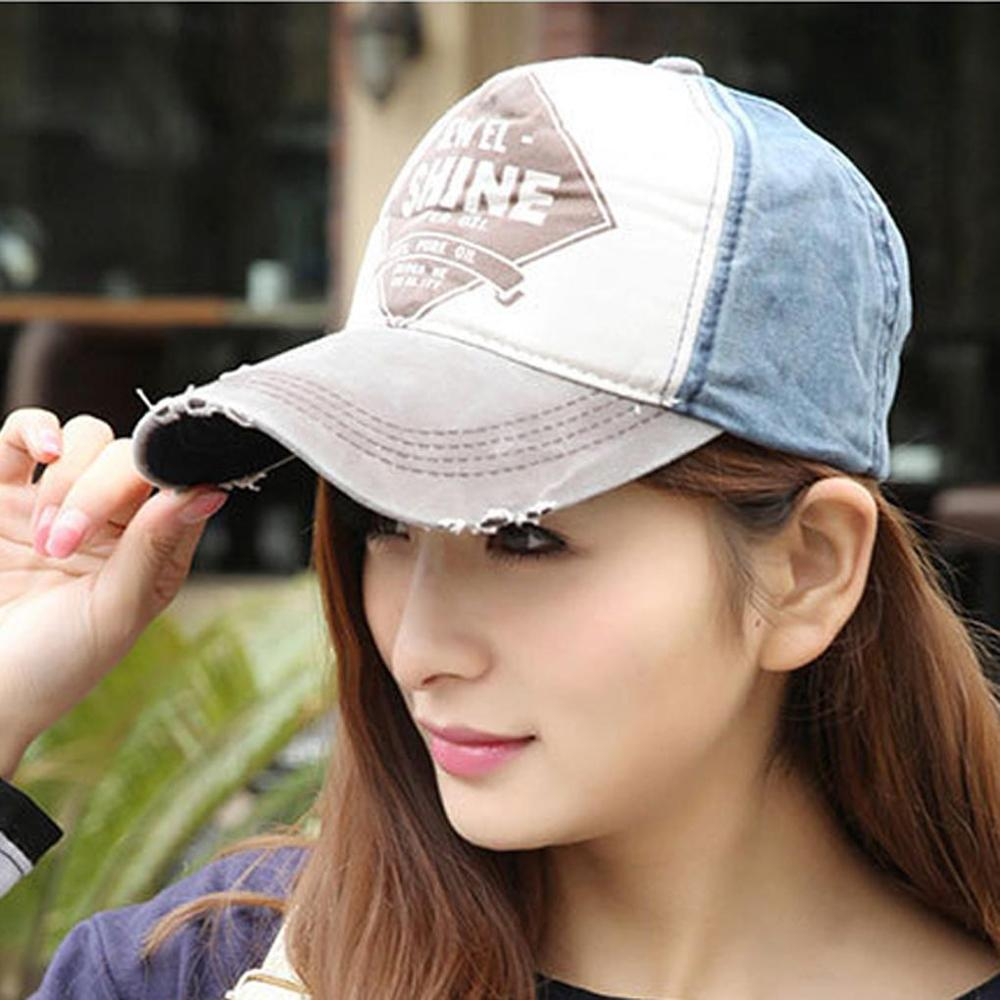 Best Quality 5 colors vintage style spell color edging Cotton Adjustable Hat <strong>Cap</strong> women casual Baseball <strong>Cap</strong> Hot Promotions