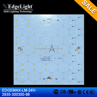 Edgelight backlight LED module , white color/warm white/cool white smd led pcb module , CE/ROHS UL 2835 LED module