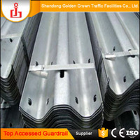 Top Accessed guardrail supplier / Traffic Road safety products galvanized steel safe barrier highway guardrails
