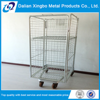 collapsible roll cage hand cart trolley