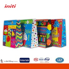 2016 INITI Factory Recyclable decorative handmade paper gift bags