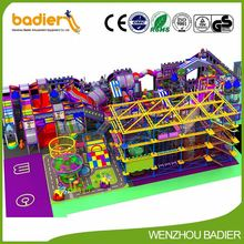 New product high quality forest theme decoration indoor playground with many colors