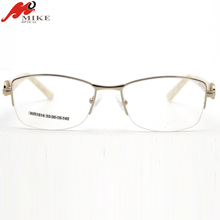 2018 New model fashionable spectacles stainless steel glasses frame optical