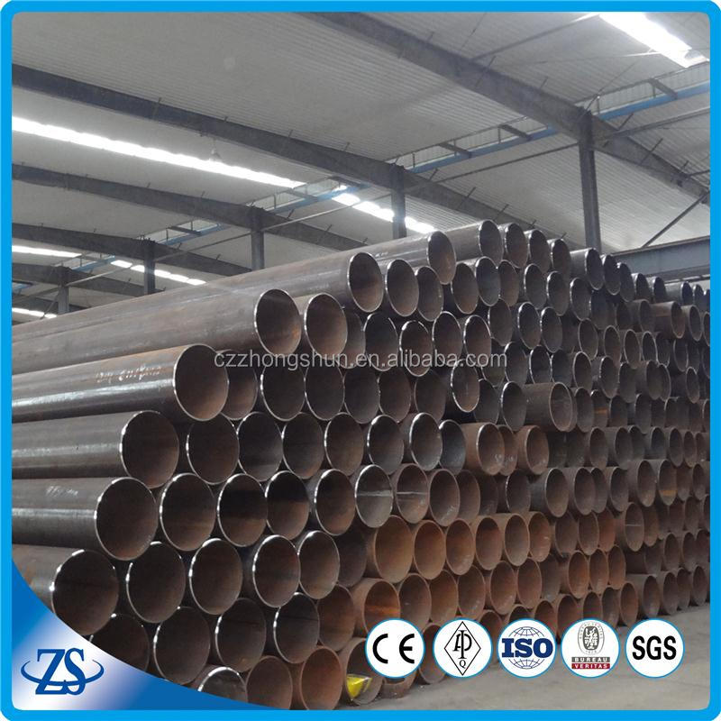 carbon steel pipe standard length/price per ton/price per meter for scaffolding system uses