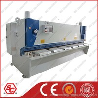 6*3200mm guillotine machine with E10 back gauge control system