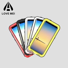 2017 Shenzhen Mobile Accessory New Arrival Love Mei Mobile Phone Case for Samsung Galaxy Note 8 cell phone