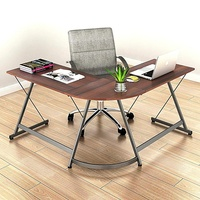 Free Sample L Shape Home Office Corner Computer Desk Supplier