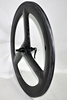 tri spokes wheels, carbon 3 spokes wheels, fix gear carbon wheels