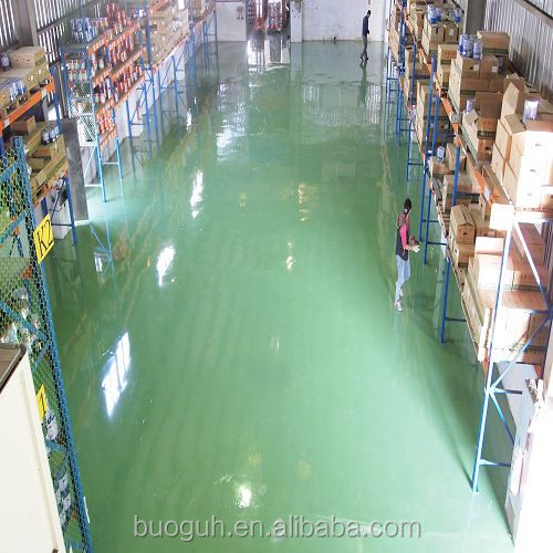 (SOLVENT-LESS) MADE IN TAIWAN OIL RESISTANT SELF-LEVELING CAR PARK FLOOR PAINT