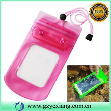 Wholesale pvc phone waterproof case For moto g