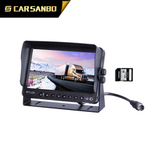 high quality car lcd monitor with DVR function with good price