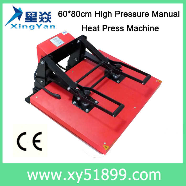 60*80CM Heat Transfer <strong>Machine</strong> with 220/110V Voltage and 0 to 200 degree centigrade Temperature