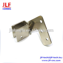 Nickel plated metal discs customized high precision brushed nickel steel sheet metal parts
