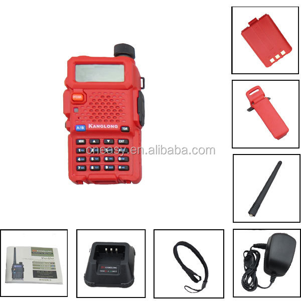 Handheld dual band 2 way radio colorful 128channel secure walkie-talkie