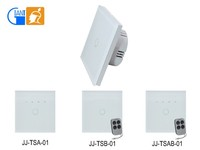 1 Gang 1 Way Touch on/off wall switch for smart home light control JJ-TS-01