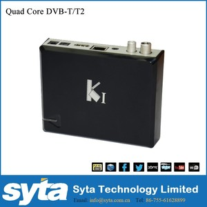SYTA Most popular dvb t2 android tv box k1 Amlogic S805 quad core full hd 1080p h.265 1gb 8gb