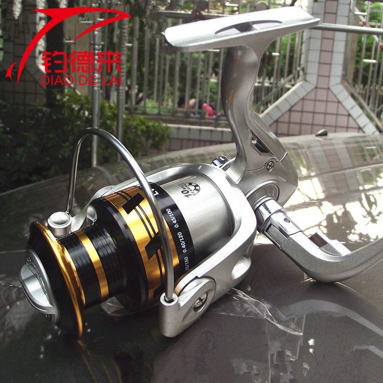 LV10 full metal head spinning wheel shaft sea gear fishing rod