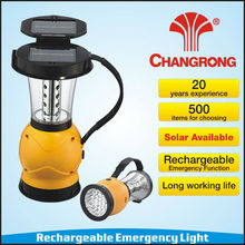 Solar outdoor light camping lantern factory price with led lights and operated