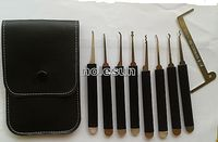 New 9pcs qualified lock pick made in TaiWan , auto used lock pick set for car door opening tools from locksmith supplier