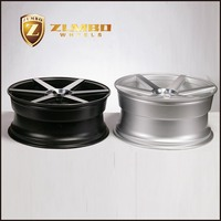 ZUMBO Z84 Semi Matt Black Machina 18/19/20/22 Inch Car Aluminum Alloy Wheel Rims