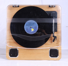 China factory High quality Retro AM/FM wooden radio turntable cd record cassette radio player CD player