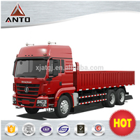 SHACMAN heavy truck 6*4 dump truck for myanmar