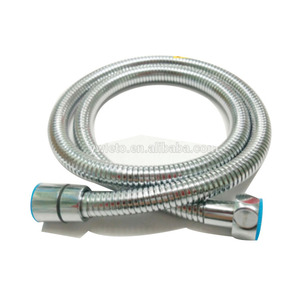 Aluminium extensible flexible metal chrome stainless steel shower pipe hose
