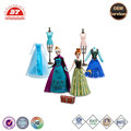New Fashional Plastic Frozen Movie snow queen Elsa and princess Anna Doll