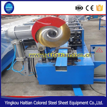 Gutter roll forming machine/Square Type Downpipe Forming Machine/downspout steel squar tube making machine