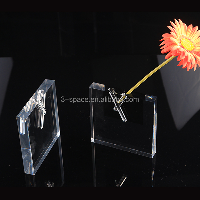 Transparent Block Vase Transparent Block Vase Suppliers And