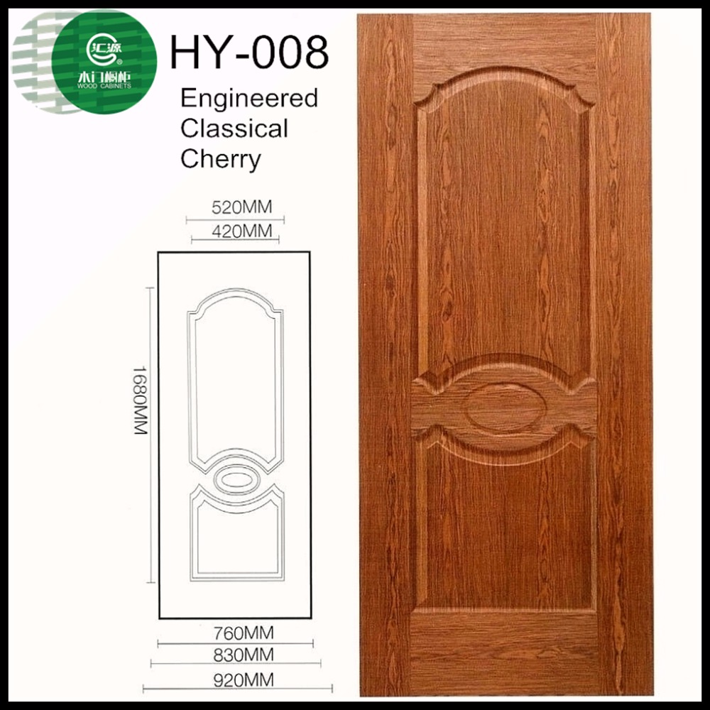 Guangzhou melmine mould Wood Doors front main door design made in china