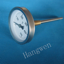 63mm Industrial Bimetal Pizza Oven Thermometer