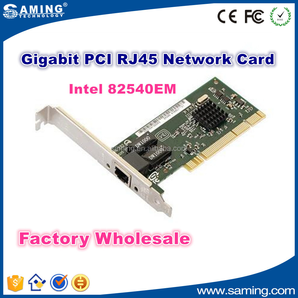 1000Mbps Gigabit PCI Network Adapter with intel 82540EM factory wholesale