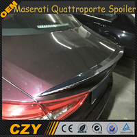 Racing Carbon Fiber Car Rear Spoiler for Maserati Quattroporte Sedan