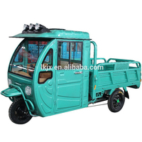 three wheel cargo motorcycle /rickshaw battery operated/cargo electric tricycle