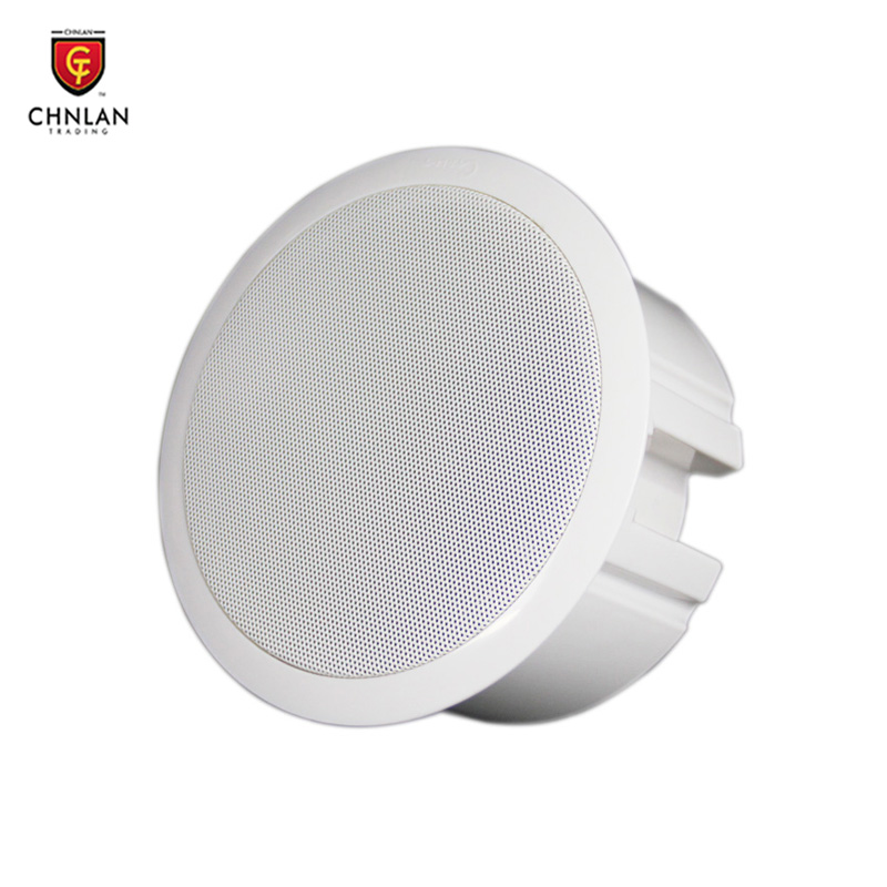 active ceiling speaker with back cover 10w 6.5 inch ceiling spekaer with amplifier CA2862