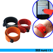 OEM Silicone Touch Pen wristband for kid