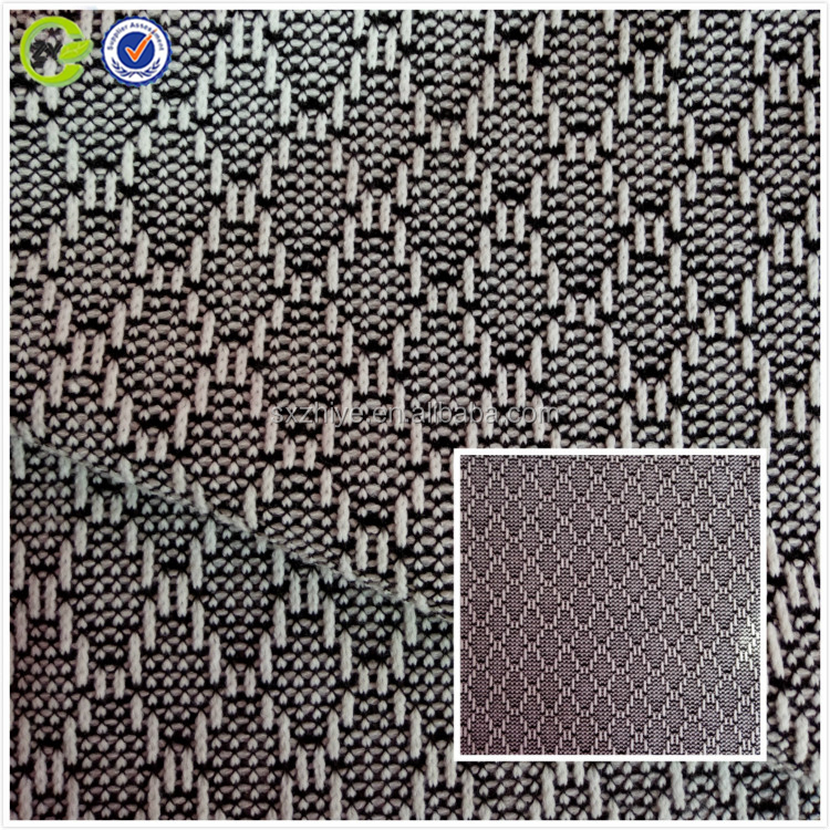 100% polyester yarn-dyed knitted fabric China wholesale keiqiao supplier knitted jacquard fabric for garment